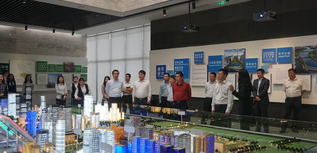电子科技大学副校长徐红兵一行到访成都金控集团